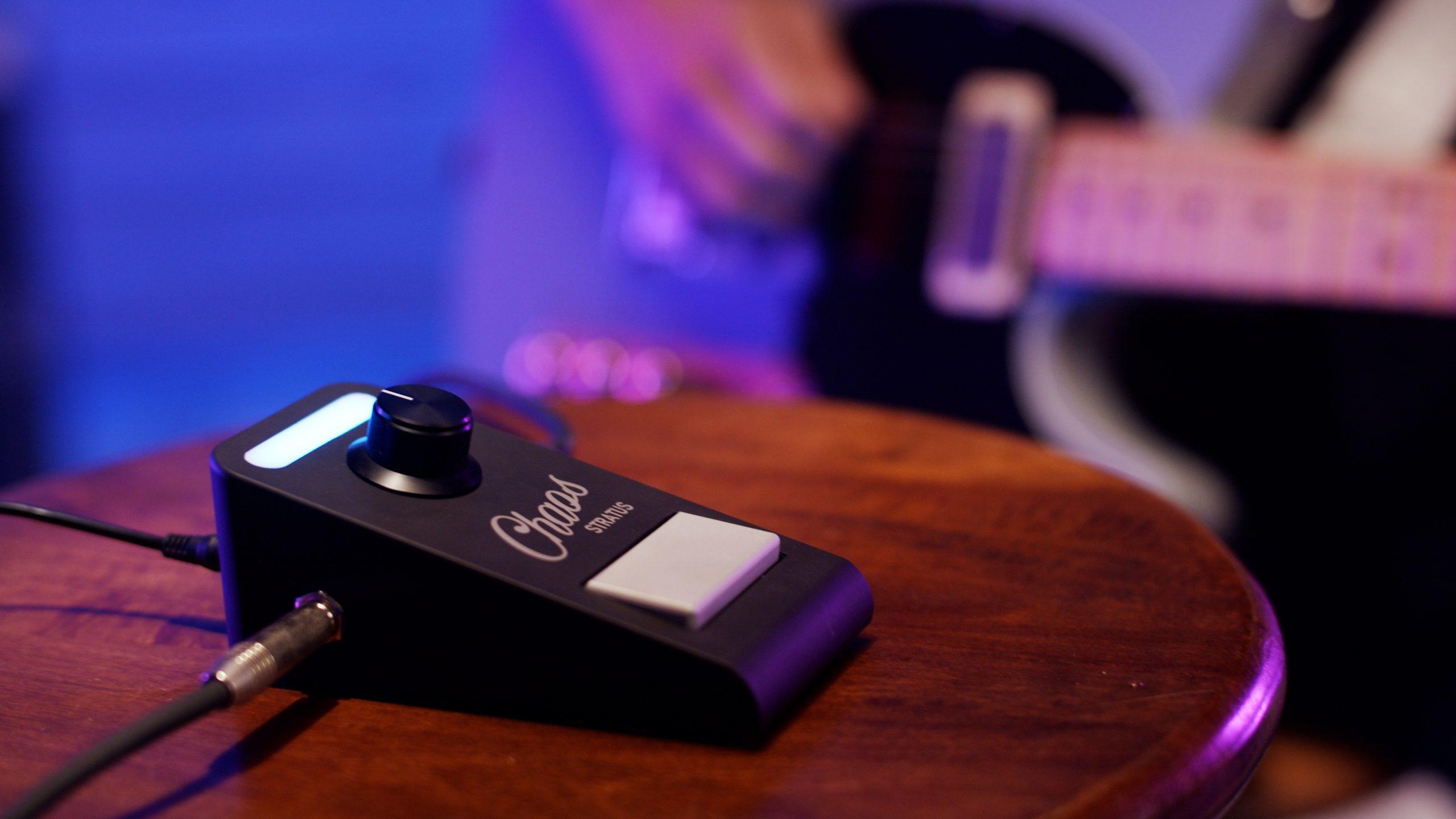 Chaos Audio Kickstarter for Stratus Guitar Pedal Going Strong
