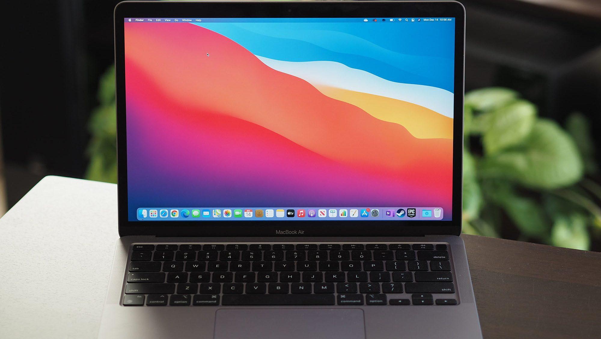 apple laptop macbook air
